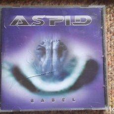 CDs de Música: ASPID , BABEL , CD 2002 BUEN ESTADO ENVIO ECONOMICO. Lote 125840211