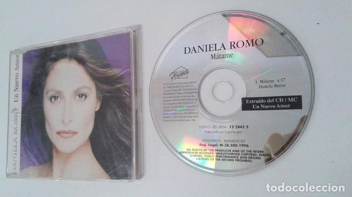 DANIELA ROMO CD SINGLE UN NUEVO AMOR. LOTE 109298570 DANIELA ROMO CD SINGLE EDICION PARA RADIOS (Música - CD's Latina)
