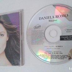 CDs de Musique: DANIELA ROMO CD SINGLE UN NUEVO AMOR. LOTE 109298570 DANIELA ROMO CD SINGLE EDICION PARA RADIOS. Lote 125841715