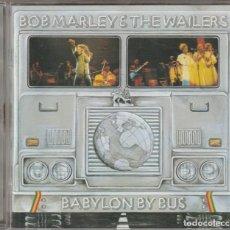 CDs de Música: BOB MARLEY & THE WAILERS - BABYLON BY BUS (CD ISLAND EU 2001) REMASTERIZADO. Lote 125929391