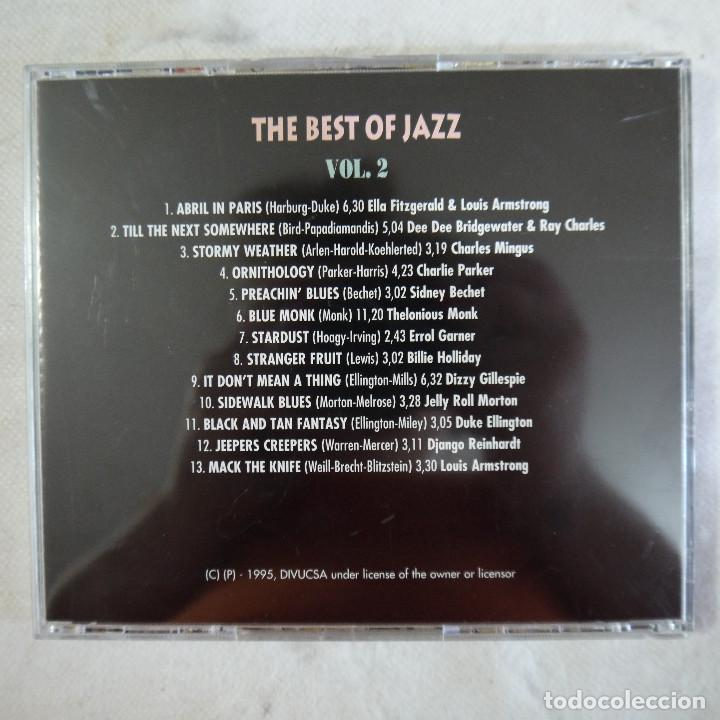 CDs de Música: THE BEST OF JAZZ VOL. 2 - CD 1995 - Foto 3 - 125948451