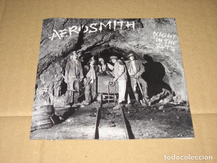 CDs de Música: AEROSMITH - NIGHT IN THE RUTS - Foto 3 - 125963603