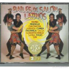 CDs de Música: BAILES DE SALON LATINOS. Lote 125974287