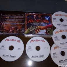 CDs de Música: HELLOWEEN KEYS AND TEARS BOX. Lote 125990160