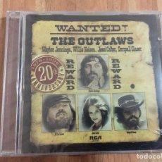 CDs de Música: THE OUTLAWS,,WANTED¡,,PRECINTADO.. Lote 126014663