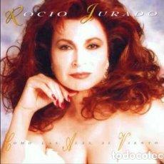CDs de Música: ROCIO JURADO CON LAS ALAS AL VIENTO. Lote 126017667