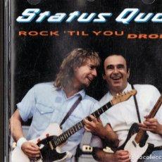 CDs de Música: STATUS QUO ¨ROCK ´TIL YOU DROP¨ (CD). Lote 126021531