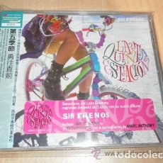 CDs de Música: LA 5 QUINTA ESTACIÓN - SIN FRENOS, NATALIA JIMÉNEZ, MARC ANTHONY SINGLE LIBRO TAIWAN OBI JAPAN JAPÓN. Lote 126039071