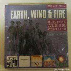 CDs de Música: EARTH WIND & FIRE CAJA 5 CD ORIGINAL ALBUM CLASSICS. Lote 126062359