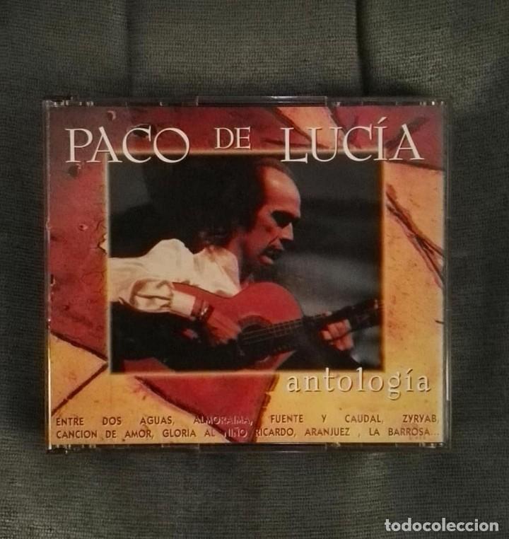 PACO DE LUCIA ANTOLOGIA 2CD (Música - CD's Flamenco, Canción española y Cuplé)