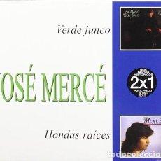 CDs de Música: JOSÉ MERCÉ * PAC 2 CD SLIM * VERDE JUNCO + HONDAS RAICES * LTD PRECINTADO. Lote 126094543