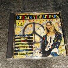 CDs de Música: BUENAS VIBRACIONES LO MAS HIPPY 2CD ARCADE. Lote 126176667
