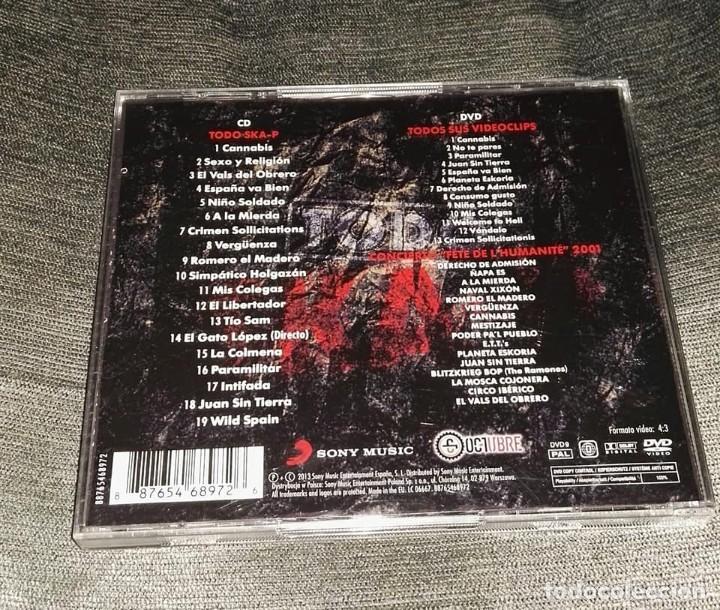 CDs de Música: todo ska-p cd dvd - Foto 2 - 126177191