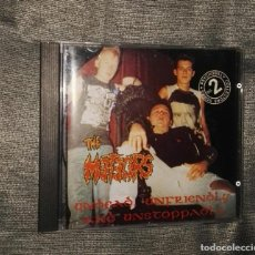 CDs de Música: THE METEORS UNDEAD UNFRIENDLY AND UNSTOPPABLE CD PSYCHOBILLY. Lote 126181119