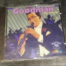 CDs de Música: BENNY GOODMAN AND HIS ORCHESTA SING SING SING 21 TEMAS REMASTERIZADOS. Lote 126191879