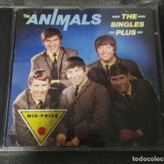 CDs de Música: THE ANIMALS SINGLES PLUS LUJO. Lote 126195659