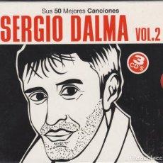CDs de Música: SERGIO DALMA 3 CD'S SUS 50 MEJORES CANCIONES VOL. 2 2011. Lote 126203535