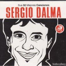 CDs de Música: SERGIO DALMA 3 CD'S SUS 50 MEJORES CANCIONES 2009. Lote 126203811