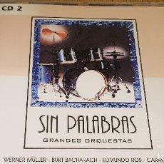 CDs de Música: SIN PALABRAS / GRANDES ORQUESTAS / CD - BETTER MUSIC / 20 TEMAS / LUJO.. Lote 126245427