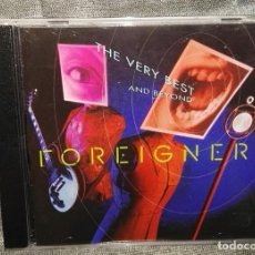CDs de Música: FOREIGNER THE VERY BEST AND BEYOND. Lote 126249971