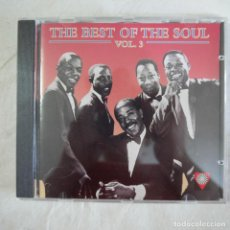 CDs de Música: THE BEST OF THE SOUL VOL. 3 - CD 1995 . Lote 126256403