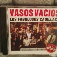 CDs de Música: LOS FABULOSOS CADILLACS VASOS VACIOS CD. Lote 126257279