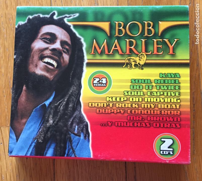 BOB MARLEY, 24 TEMAS, 2 CDS (Música - CD's Reggae)