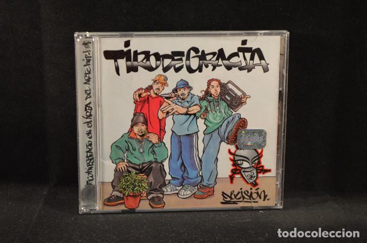 TIRO DE GRACIA - DECISION - CD (Música - CD's Hip hop)