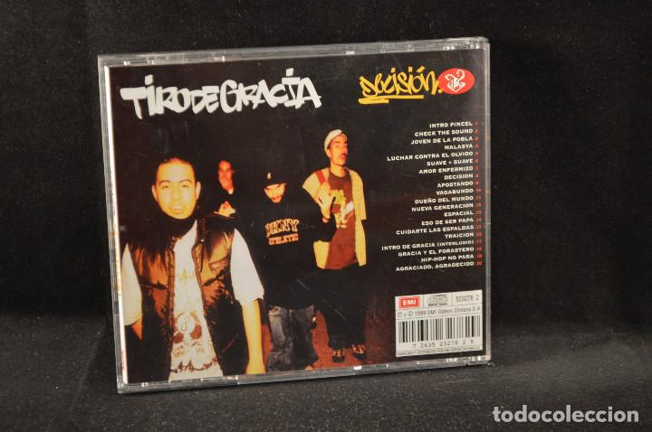 CDs de Música: TIRO DE GRACIA - DECISION - CD - Foto 2 - 126291019