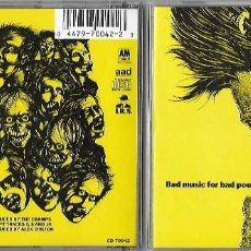 CDs de Música: CRAMPS, THE: BAD MUSIC FOR BAD PEOPLE. CLÁSICO GARAGE PUNK / PSYCHOBILLY. Lote 126293351