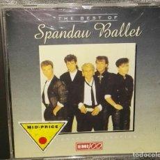 CDs de Música: THE BEST OF SPANDAU BALLET. Lote 126366143