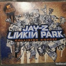 CDs de Música: JAY-Z LINKIN PARK CD DVD COLLISION COURSE. Lote 151834584