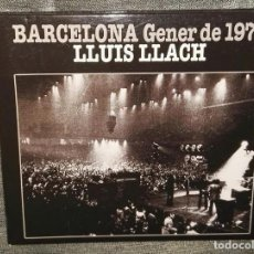 CDs de Música: LLUIS LLACH BARCELONA GENER DE 1976 CD. Lote 126370827