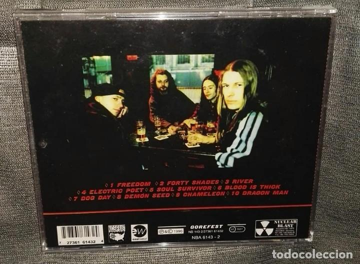 CDs de Música: gorefest soul survivor metal power - Foto 2 - 126375055