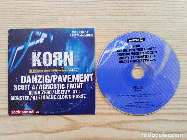 CD ROCK SOUND - VOLUMEN 22 (Música - CD's Heavy Metal)