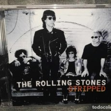 CDs de Música: THE ROLLING STONES STRIPPED. Lote 126434151