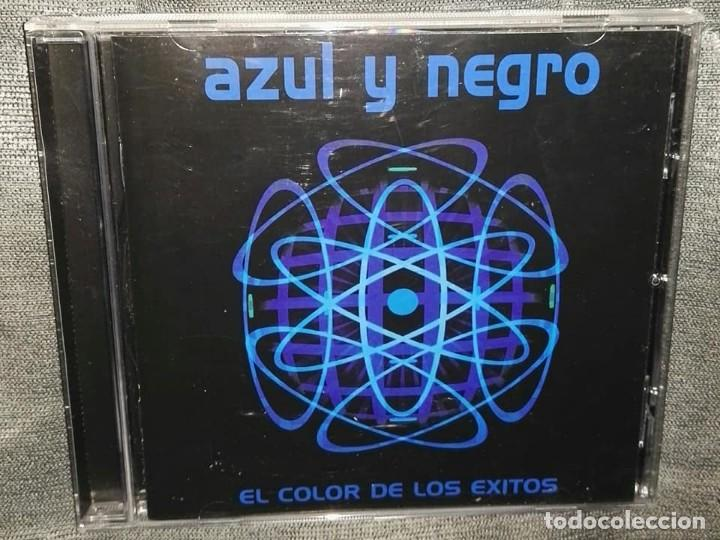 AZUL Y NEGRO EL COLOR DE LOS EXITOS (Música - CD's Disco y Dance)