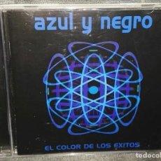 CDs de Música: AZUL Y NEGRO EL COLOR DE LOS EXITOS. Lote 126434431