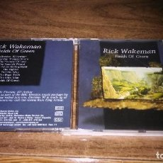CDs de Música: RICK WAKEMAN - FIELDS OF GREEN. Lote 126460435