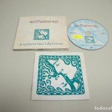 CDs de Música: 1018- MILLADOIRO A QUINTA DAS LAGRIMAS CD FOLK GALLEGO ESPAÑA AÑO 2008. Lote 126464075