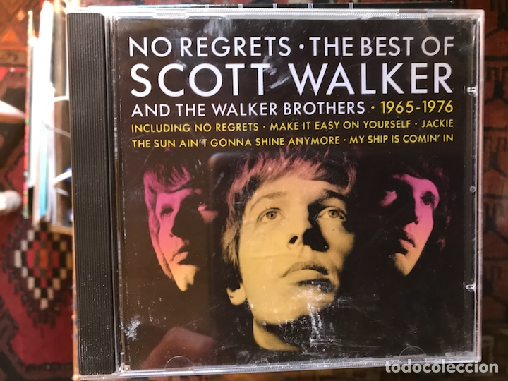 NO REGRETS. THE BEST OF SCOTT WALKER (Música - CD's Rock)