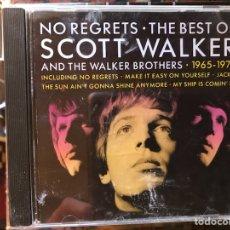 CDs de Música: NO REGRETS. THE BEST OF SCOTT WALKER. Lote 126487824