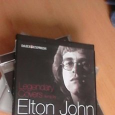 CDs de Música: ELTON JOHN LEGENDARY COVERS SUNG BY ELTON JOHN - 2 CD COLLECTION. Lote 126552175