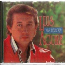 CDs de Música: CD LUIS AGUILE : MIS HEROES . Lote 126576207