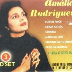 CDs de Música: AMALIA RODRIGUES 3CDS . Lote 126641039