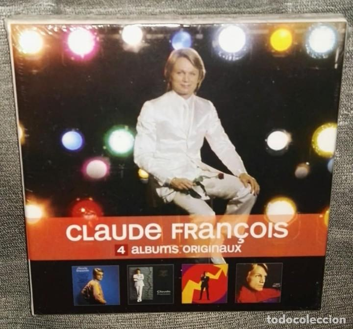 CLAUDE FRANÇOIS 4 ALBUMS ORIGINAUX CAJA 4 CDS PRECINTADA (Música - CD's Rock)