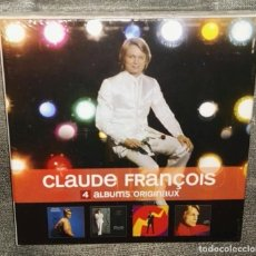 CDs de Música: CLAUDE FRANÇOIS 4 ALBUMS ORIGINAUX CAJA 4 CDS PRECINTADA. Lote 126643331