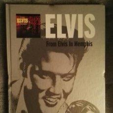 CDs de Música: ELVIS PRESLEY FROM ELVIS IN MEMPHIS CD + LIBRO. Lote 127809916