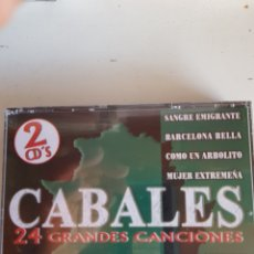 CDs de Música: LOS CABALES 24 GRANDES CANCIONES 2 CDS.. Lote 126661232