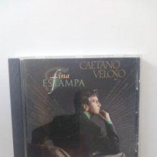 CDs de Música: FINA ESTAMPA - CAETANO VELOSO CD. Lote 126667139